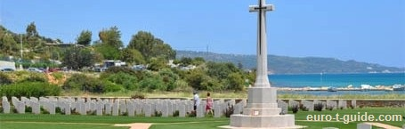 Suda Bay War Cemetery - Crete - Greece - World War II & I - European Tourist Guide - euro-t-guide.com
