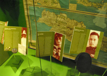 The World War II history of the Dutch colonies in Asia is also part of the exhibition at the Dutch Resistance Museum in Amsterdam.