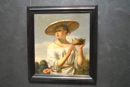One of the many classic paintings displayed at the Rijksmuseum in Amsterdam.