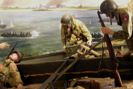 A part of the D-day exhibition at the The National Liberation Museum 1944-1945 in Groesbeek (near Arnhem).