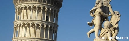 Leaning Tower of Pisa - Italy - Building - European Tourist Guide - euro-t-guide.com