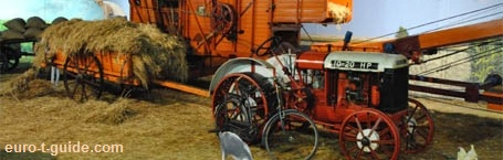 euro-t-guide - Agriculture Museums & sights - Europe - European Tourist Guide - Farm - Tractor