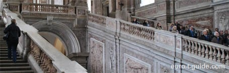 Royal Palace of Caserta - Italy - European Tourist Gudie - euro-t-gudie.com