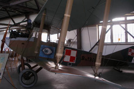 An Albatros B.II - one of the oldest aircrafts at the Polish Aviation Museum Cracow.
