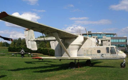 A PZL M-15 agricultural aircraft from the 1960's at the Polish Aviation Museum Cracow.