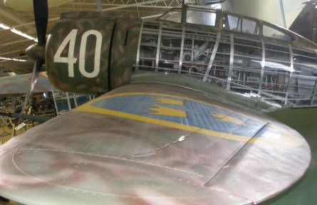 "Some of the aircrafts at the Swedish Air Force Museum have been ""cut open"" so that you can see how complex they are inside."