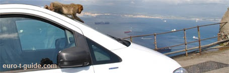 Rock of Gibraltar - Gibraltar - European Tourist Guide - euro-t-guide.com
