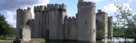 Bodiam Castle - Hastings - England - UK - Fortress - Middle ages - Knights - European Tourist Guide - euro-t-guide.com