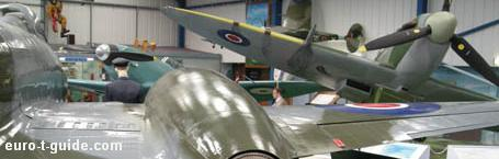 Tangmere Military Aviation Museum - Portsmouth - England - RAF - Royal Air Force - World War II - Hawker Hunter - Meteor - Spitfire - Hurricane - European Tourist Guide - euro-t-guide.com