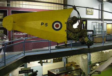 "An old ""training helicopters""at the Museum of Army Flying."
